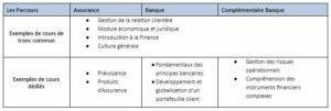 Des cours en tronc commun et des enseignements spécifiques permettant une approche différenciée dans la forme et le contenu