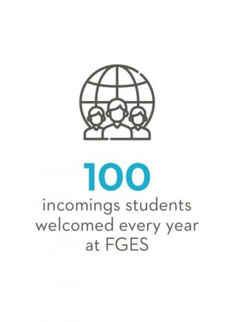 100 incoming students